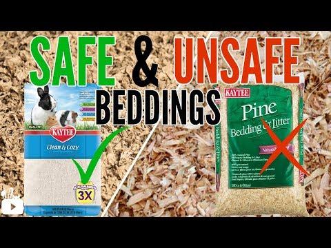 SAFE & UNSAFE hamster beddings + alternatives!