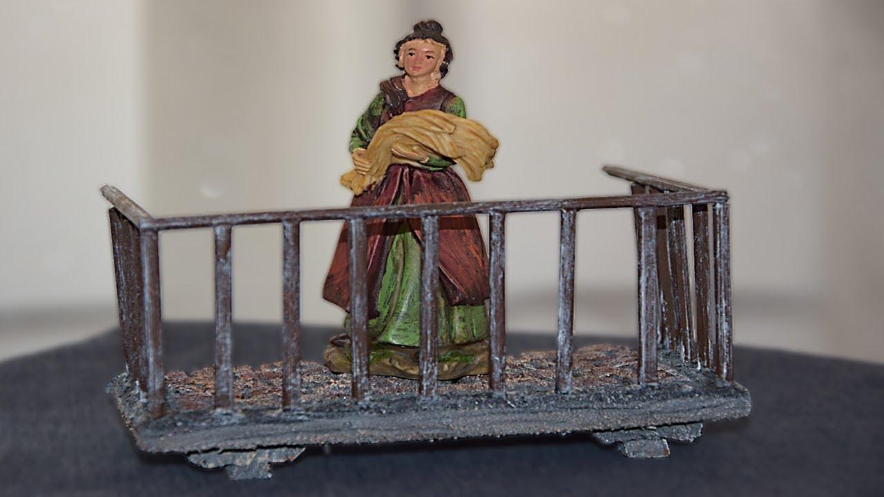Ringhiere In Ferro Usate come fare un balcone in polistirolo per modellismo, presepe e diorama -  tutorial facilissimo