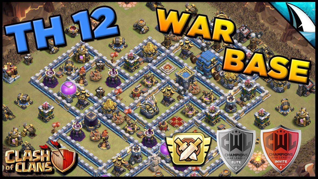 Base Coc Th 12 Untuk War 9