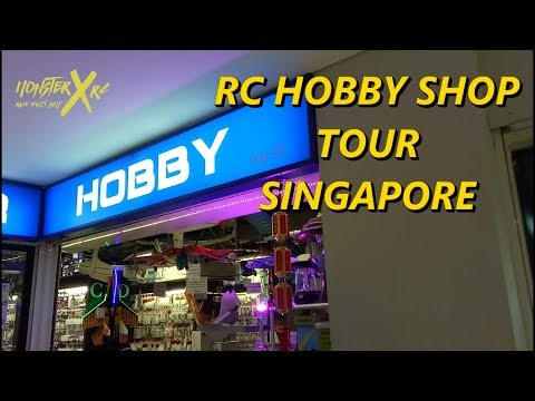 RC Hobby Shop Tour Singapore