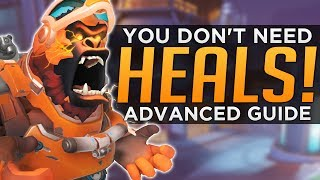 Overwatch: GREAT Winstons Don't NEED Healing! - Advanced Guide
