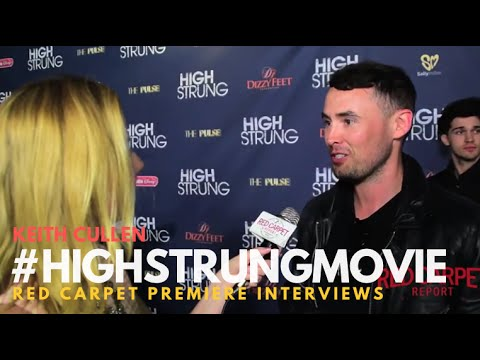 """Keith Cullen at the Red Carpet Premiere for """"High Strung"""" #HighStrungMovie"""