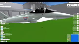 Crashing a Eurofighter Typhoon into innocent people in Acceleration ROBLOX
