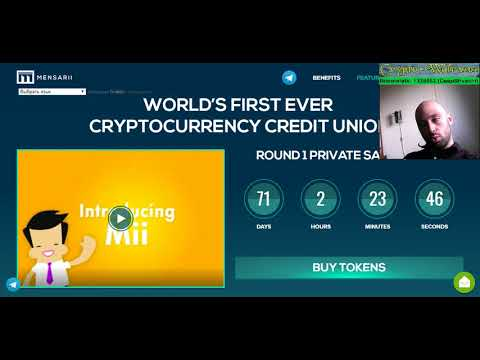 Mensarii - world's first ever cryptocyrrency credit union