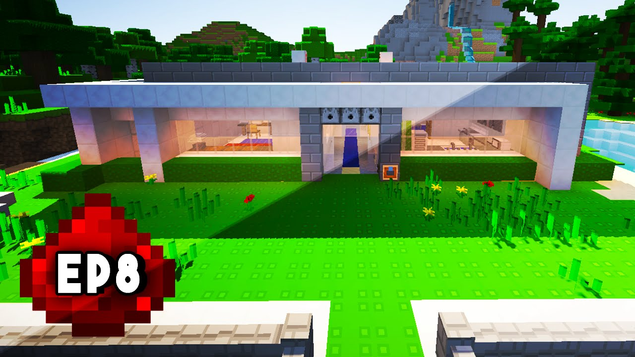 how to build a redstone house