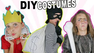 DIY Halloween Costumes | Last Minute Easy Crafts For Kids