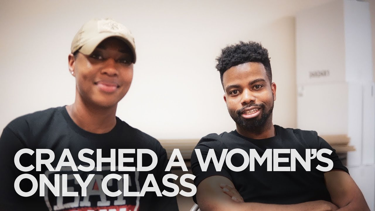 Crashed a WOMEN'S ONLY CLASS