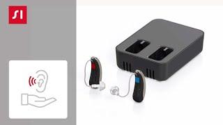 Cómo cargar su audífono libre de baterías