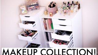 My Makeup Collection & Storage! | Amelia Liana