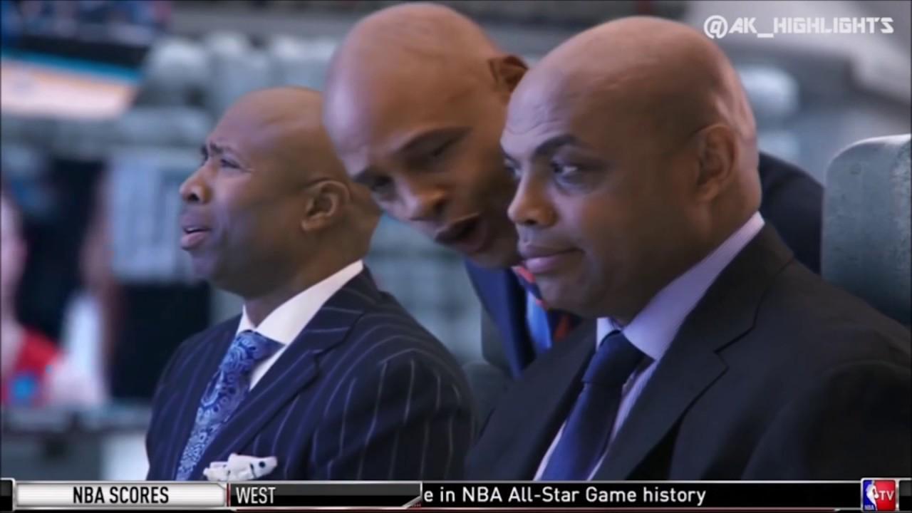 "Inside The NBA Crew Roastin Clark Kellogg ""It s The Fog Horn Guys"