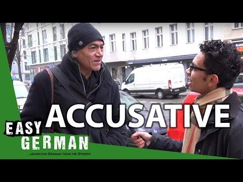 Tiếng Đức bài 15: German cases Accusative