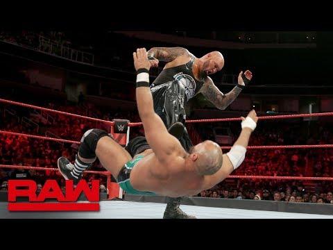 Luke Gallows & Karl Anderson vs. The Revival: Raw, Feb. 12, 2018