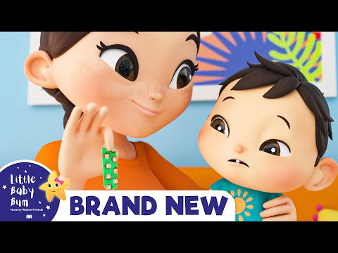 Boo Boo Song | NEW SONG | Nursery Rhyme & Kids Song -ABCs and 123s | Little Baby Bum