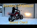 What does the DanMoto GP Exhaust Sound like on a Suzuki Bandit GSF1200?