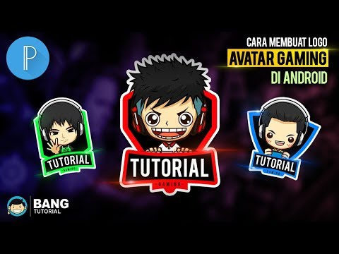 How to Make Avatar Gaming Logo on Android | PIXELLAB TUTORIAL #4