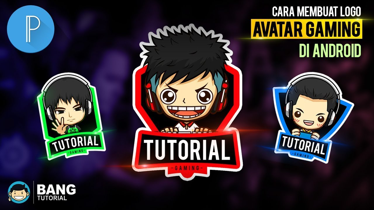 Cara Membuat Logo Avatar Gaming Di Hp Android Pixellab Tutorial 4