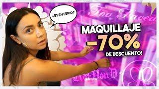 NO VAN A CREER EL MAQUILLAJE QUE ME ENCONTRE A 70% DE DESCUENTO EN TJMAXX