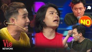 """Trấn Thành muốn nổ não với cặp đôi sống """"nội tâm"""" Quang Trung - Huỳnh Lập   Nhanh Như Chớp Nhí Mùa 2"""