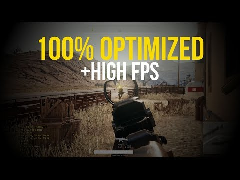 PUBG – GTX 1080 + i7-7700K / Competitive Settings 1080p @144Hz ► Best Settings