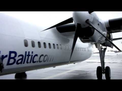 [Flight Report] AIR BALTIC | Tampere ✈ Riga | Fokker 50 | Economy