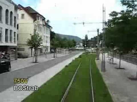 Stadtbahn Karlsruhe Ride Systemwechsel in Bad Wildbad