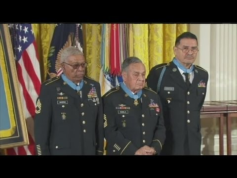 Hispanic veterans recognized for service