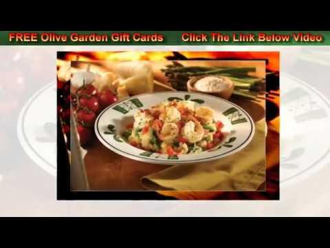 Olive Garden Gift Card – 2012