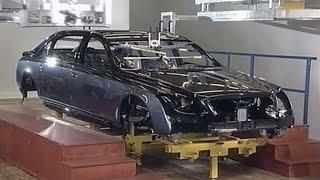 Maybach 62 - производство, 2002