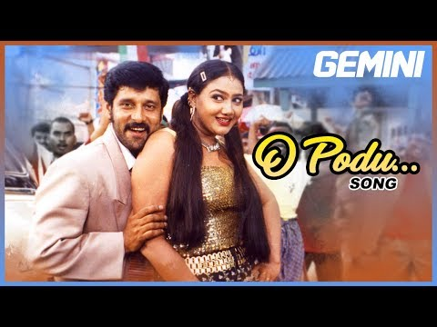 tamil-hits-|-o-podu-full-video-song-|-gemini-tamil-movie-songs-|-vikram-|-kiran-|-spb-|-barathwaj