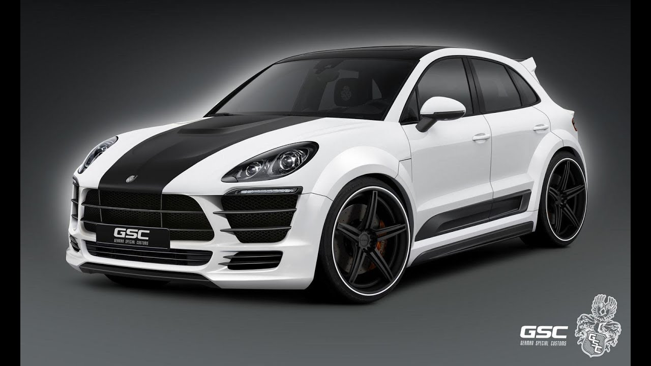Porsche Macan Widebody Kit By German Special Customs Youtube