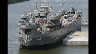 美國海軍 二戰 LST-325 坦克登陸艦 剪輯 USA Navy World War II LST-325 tank landing ship