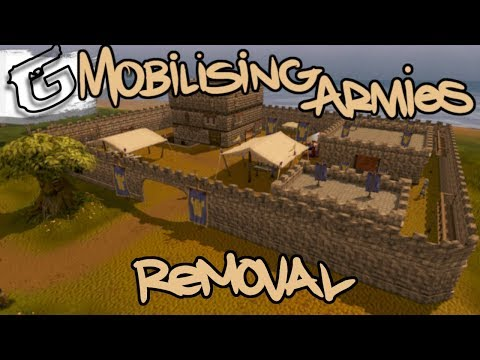 Mobilising Armies removal on the way!
