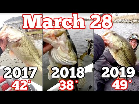 Water Temperature DOESN'T MATTER In Bass Fishing | Prove Me Wrong