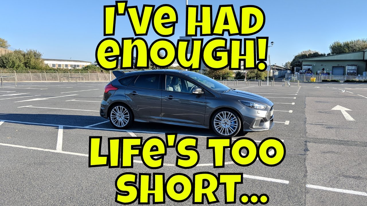 Ford Focus RS : day 534 : Saying goodbye to my Focus RS