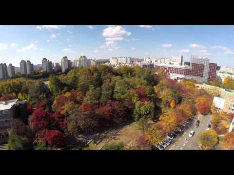SKKU Suwon Campus - Fall 2014 - Arial View