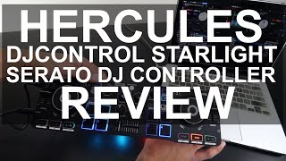DJ Tips - Hercules DJControl Starlight Serato DJ Controller Review