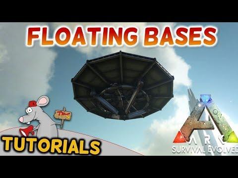 ARK Survival Evolved TUTORIALS - FLOATING BASES
