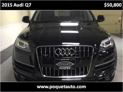 2015 audi q7 used cars golden valley mn youtube for Poquet motors golden valley mn