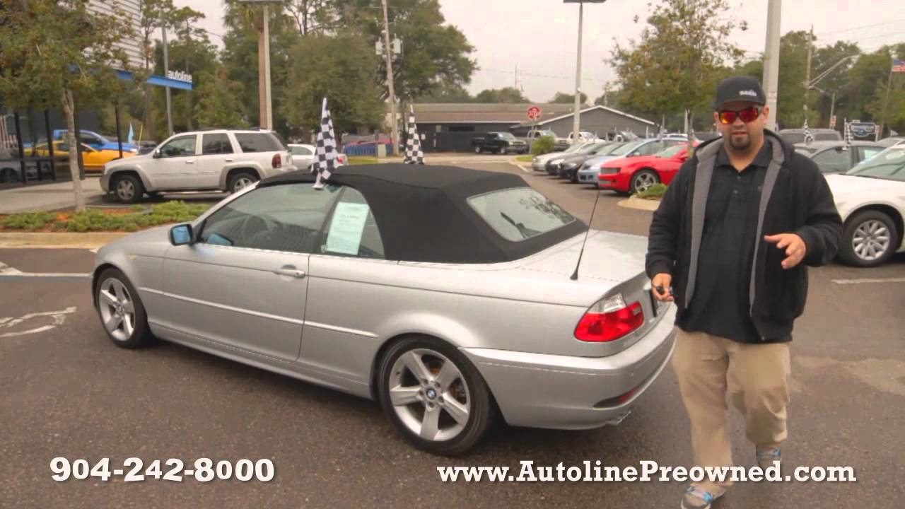 Autolines BMW Series Ci Walk Around Review Test Drive - 2005 bmw 325i convertible