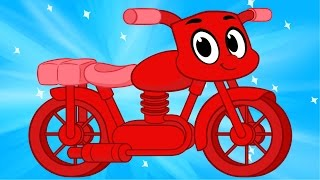 My Red Motorbike Morphle - Videos For Kids
