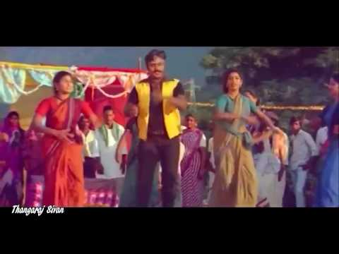 Adi Gana Karunkuyile Song  Poonthotta Kaavalkaaran Movie Song-Vijayakanth Hits