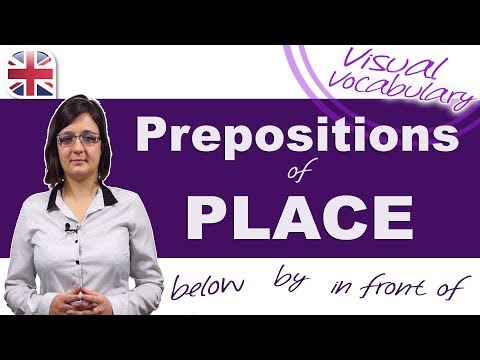 Prepositions of Place - Among? Over? Below? Learn How to Use These and More!