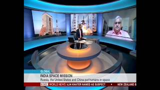 GAGANYAAN --- Pallava Bagla on BBC World TV on India's Astronaut Effort live on Aug 15 2018
