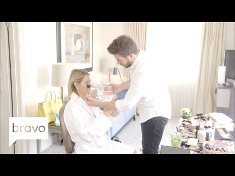 Ladies of London: Caroline Stanbury And Luke Make-Up Tutorial: Day Time (Season 3) | Bravo