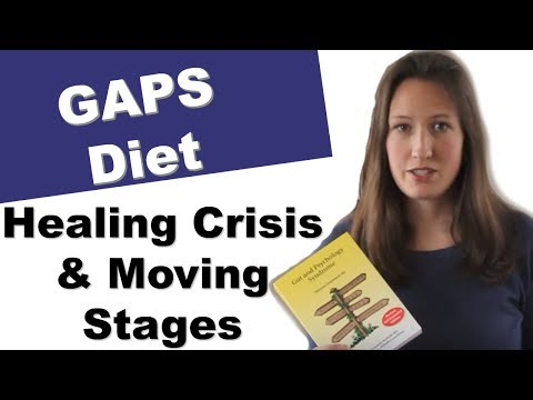 When to move on the next stage of the GAPS diet and what is a healing crisis