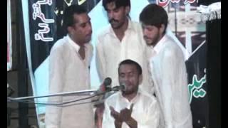 Zakir Nasir Abbas Joia Qasida   majlis 28 Rajab 2014 at Jhang City