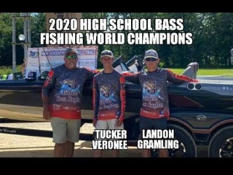2020 High School Bass Fishing World Champions