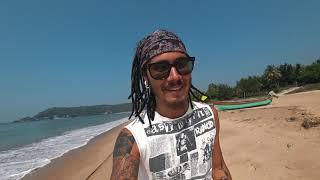 ГОА: Рыбацкий дикий пляж. Собираем кокосы. Пляжный футбол