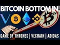 Bitcoin Bottom In! Vechain, Adidas & Game of Thrones! Ethereum 2.0, Elon Musk and more - Crypto News