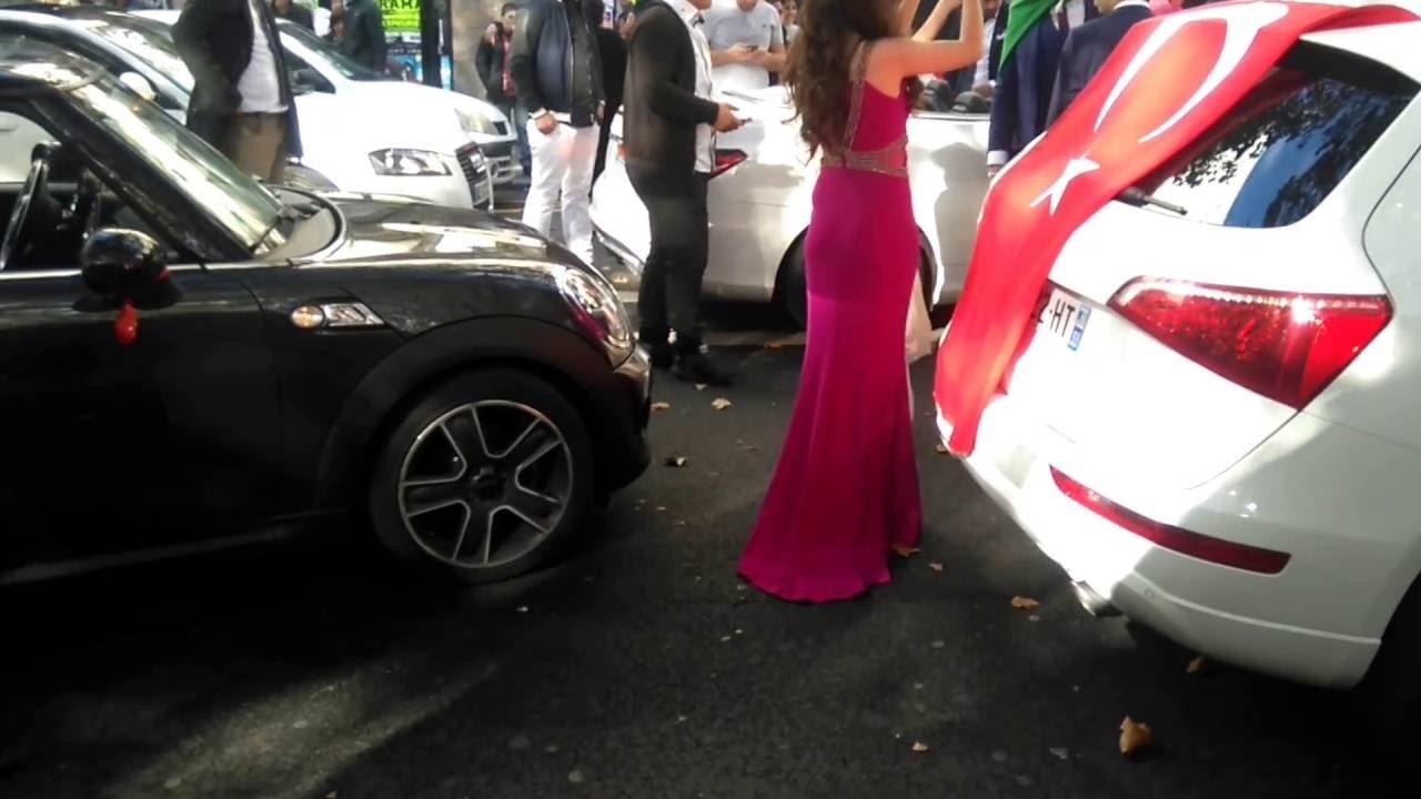 Mariage turque au centre ville nantes